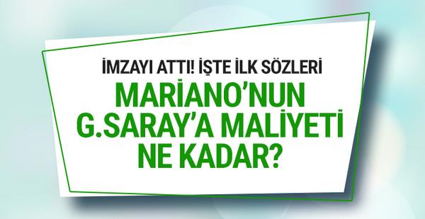Mariano Galatasaray'a imzayı attı! İşte maliyeti..