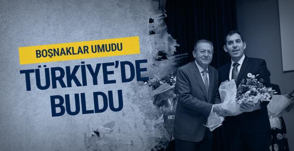 Boşnaklar umudu Türkiye'de buldu