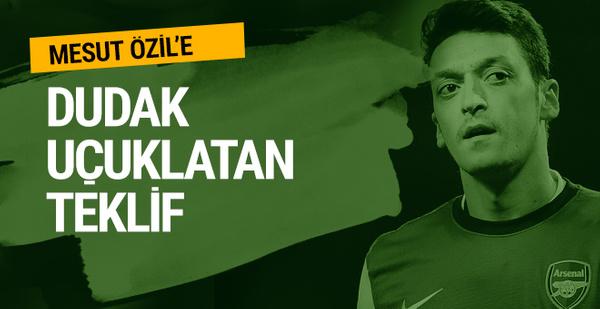 Mesut Özil'e servet! Haftalık 1.3 milyon TL