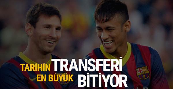 Tarihin en büyük transferi bitiyor!
