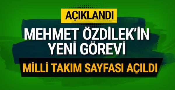 Mehmet Özdilek Fatih Terim'in birinci yardımcısı oldu