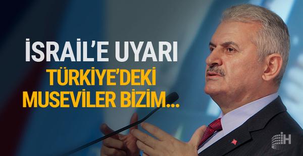 Yıldırım'dan Türkiye'de yaşayan Musevilere mesaj