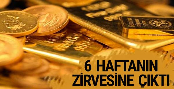 Altın fiyatları 6 haftanın zirvesinde borsa coştu (Çeyrek ne kadar?)
