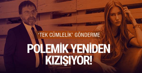 Ahmet Hakan'dan Şeyma Subaşı'na fena gönderme