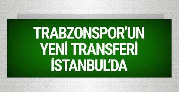 Trabzonspor'un yeni transferi Kucka İstanbul'da