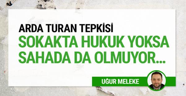 Uğur Meleke'den Arda Turan tepkisi!