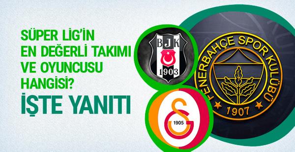 Süper Lig'in en değerli takım ve futbolcu hangisi? İşte yanıtı