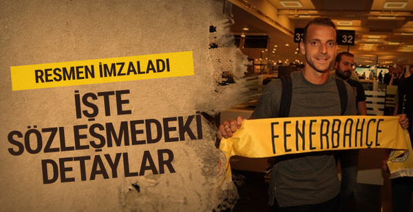 Soldado'dan Fenerbahçe'ye 3 yıllık imza