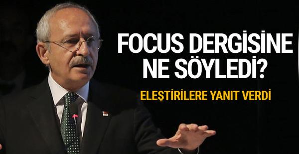 Kılıçdaroğlu olay sözleriyle ilgili ilk kez konuştu