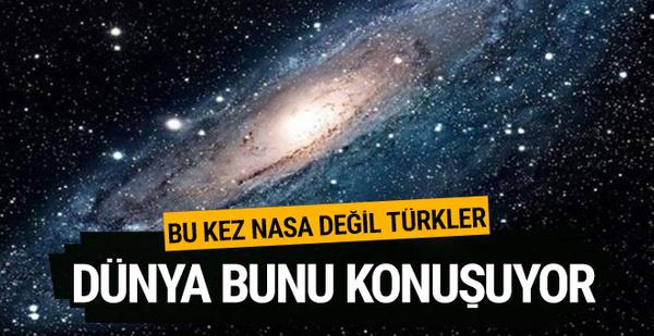 Türk bilim insanları ilk kez bir gezegen keşfetti