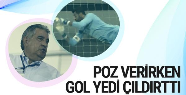 Volkan Demirel'in yediği gol Mahmut Uslu'yu kızdırdı