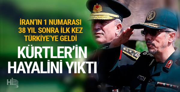 İran Genelkurmay Başkanı Bakıri Kürtler'in asırlık hayalini yıktı