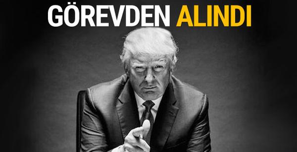 Trump'ın Stratejisti Bannon'un görevine son verildi