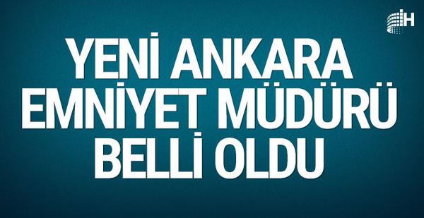 Ankara emniyetinde şok! Mahmut Karaaslan emekliliğini istedi