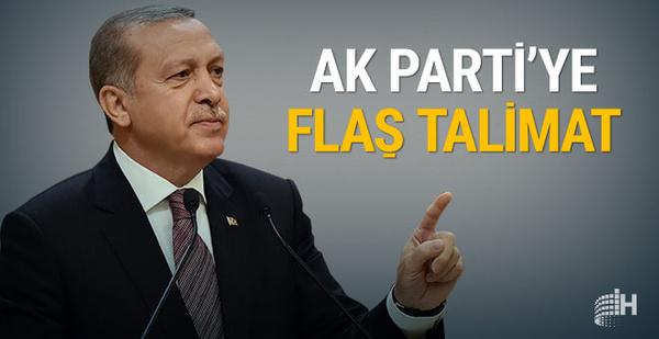 Cumhurbaşkanı Erdoğan talimat verdi: Sade olsun
