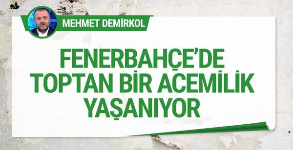 Mehmet Demirkol'dan Fenerbahçe yorumu!