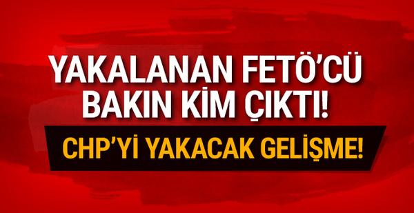 Mersin'de yakalanan FETÖ'cü bakın kim çıktı!