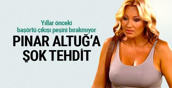 Pınar Altuğ'u şoka uğratan tehdit: Sete gelir seni öldürürüm