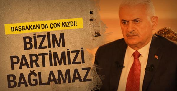 Başbakan Binali Yıldırım'dan Ayhan Oğan'a tepki