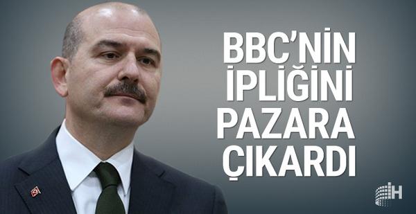 Süleyman Soylu BBC Türkçe'nin ipliğini pazara çıkardı!
