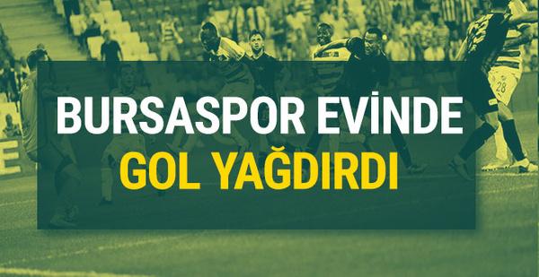 Bursaspor-Akhisar Belediyespor maç sonucu ve özeti