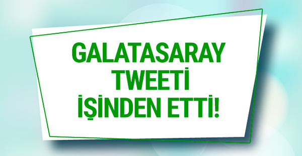 Attığı tweet istifaya sebep oldu! Galatasaray'da sıcak gelişme