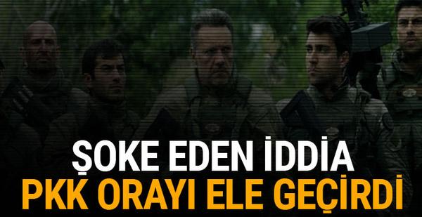 Dağ II filminde geçen Çardaklı köyü PKK tarafından işgal edildi
