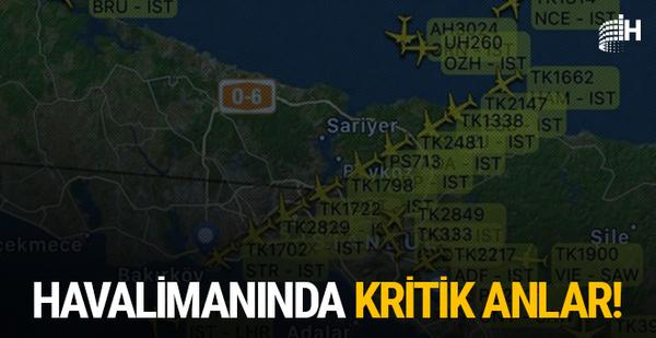 Atatürk Havalimanı'ndaki yoğunluk kritik anlara neden oldu!