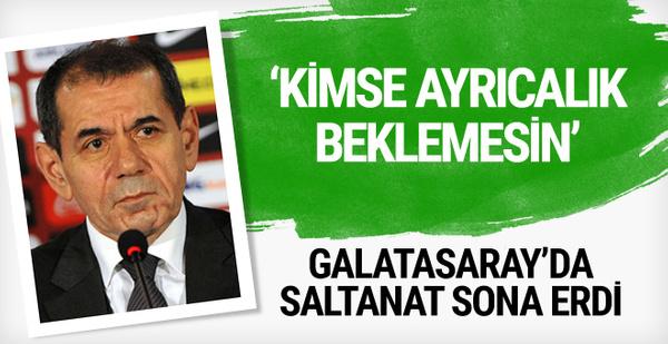 Yönetimden Galatasaraylı futbolculara uyarı