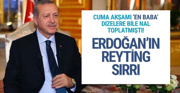 Erdoğan'ın reyting sırrı Egemen Bağış açıkladı