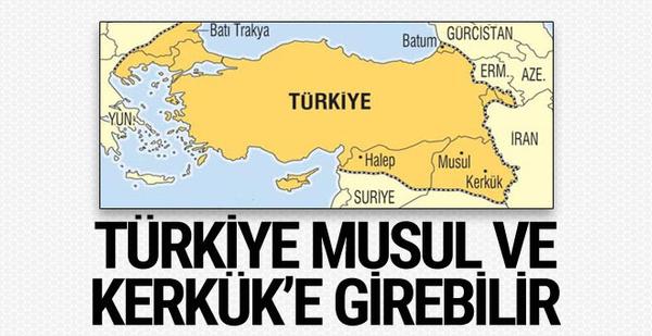 Türkiye isterse Musul ve Kerkük'e girebilir 1926'daki anlaşmanın şartları!