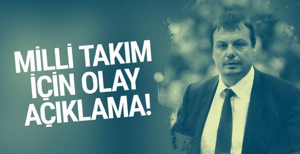 Ergin Ataman'dan Milli Takım için flaş açıklama