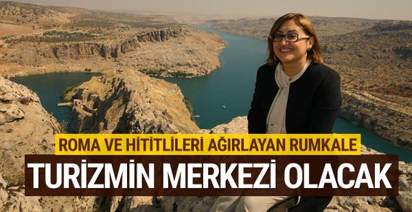 Gaziantep Büyükşehir Belediyesi Rumkale'yi turizme hazırlıyor