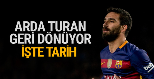 Arda Turan Ocak'ta Galatasaray'da