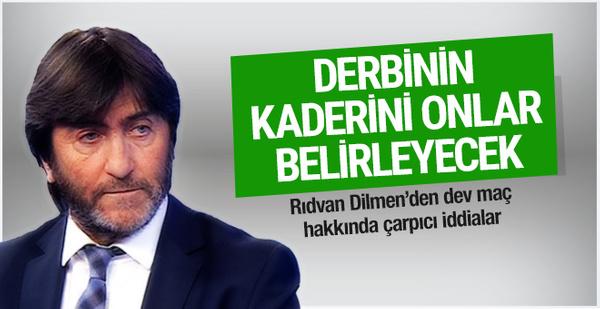 Rıdvan Dilmen Fenerbahçe Beşiktaş derbisi için konuştu
