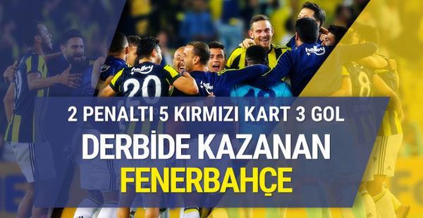 Fenerbahçe Beşiktaş maçı golleri ve geniş özeti