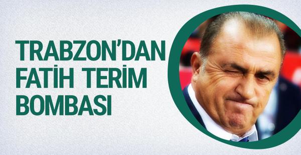 Trabzonspor'da flaş Fatih Terim iddiası!