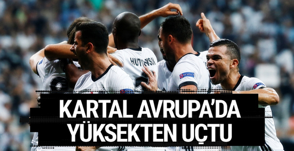 Beşiktaş-Leipzig maçı golleri ve geniş özeti