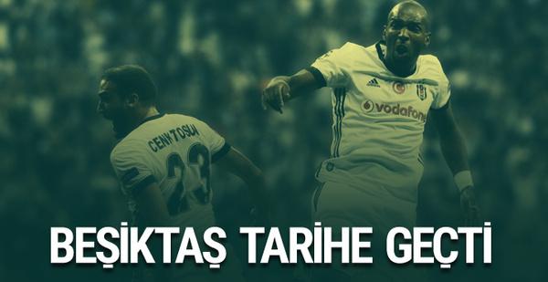 Beşiktaş Şampiyonlar Ligi'nde tarihe geçti