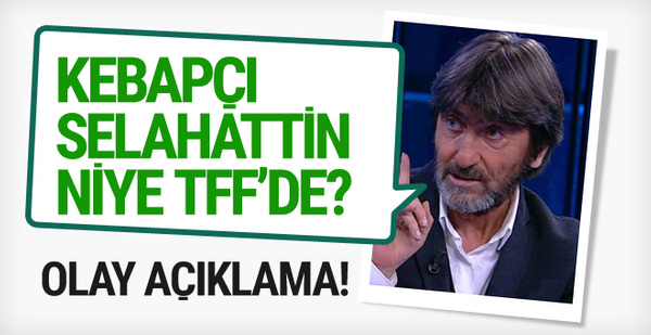 Rıdvan Dilmen'den TFF'ye sert tepki!