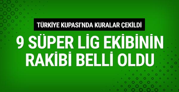 Türkiye Kupası 4. tur kuraları çekildi