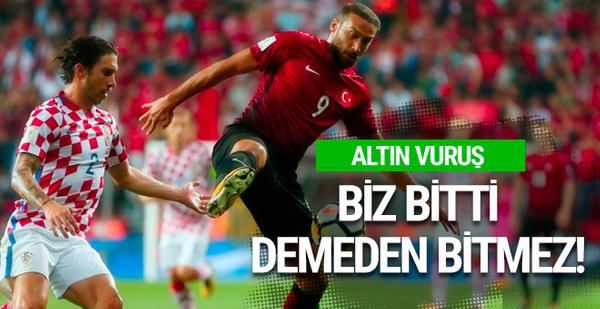 Türkiye-Hırvatistan maçının sonucu ve geniş özeti