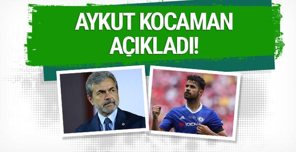 Aykut Kocaman'dan Diego Costa için açıklama