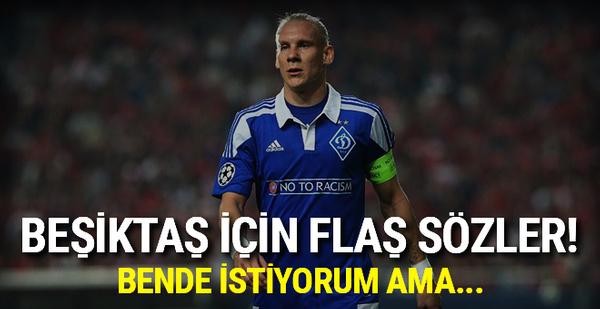 Vida'dan Beşiktaş için flaş sözler!