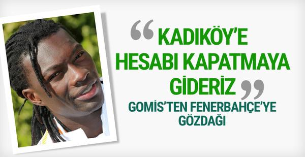 Bafetimbi Gomis'ten Fenerbahçe'ye gözdağı