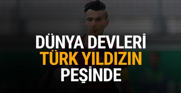 Dünya devleri Türk yıldızın peşinde