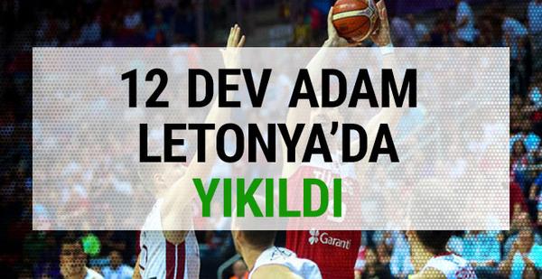 Türkiye Letonya maçı sonucu ve özeti
