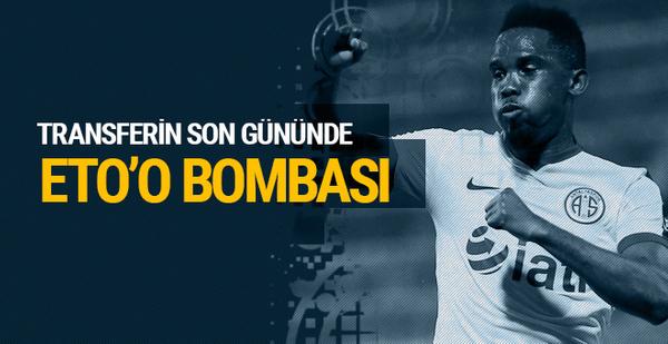 Beşiktaş'tan Samuel Eto'o atağı!
