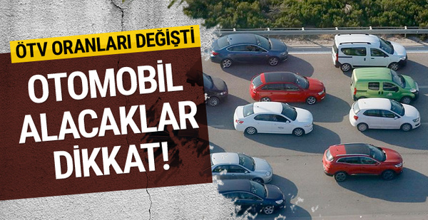 Otomobil alacaklar dikkat! ÖTV'de kritik değişiklik