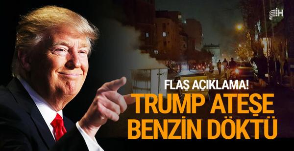Trump'tan flaş İran çıkışı! Ölü sayısı artıyor